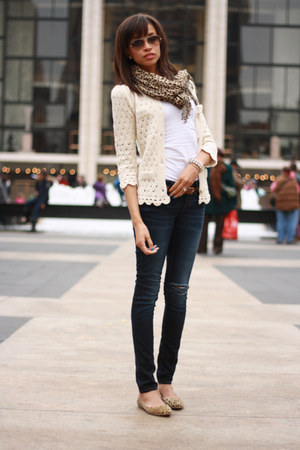 j brand jeans - Lulus flats - Sincerely Sweet Boutique cardigan