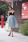 Lulus-dress-forever-21-heels-alexandra-grecco-skirt-jcrew-necklace