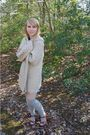 Blue-forever-21-dress-white-charlotte-russe-dress-silver-target-socks-brow
