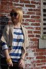 Beige-forever-21-cardigan-blue-h-m-shirt-blue-forever-21-shorts-black-rand