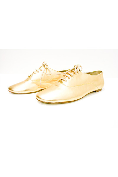 gold Steve Madden shoes