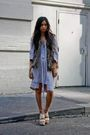 Brown-lf-stores-vest-gray-maison-martin-margiela-dress-beige-chic-swap-stock