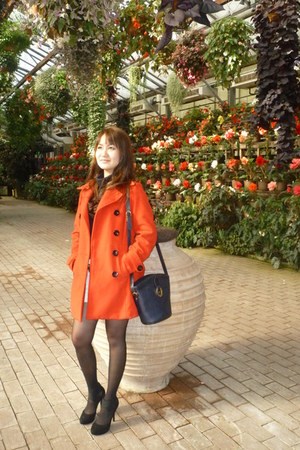 cecil mcbee coat - christian dior bag - pinky and dianne heels
