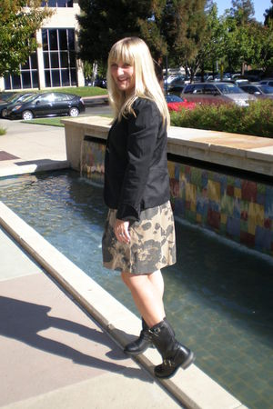 Gap blazer - Frye boots - JCrew skirt