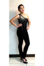 Black-kate-moss-topshop-dress-black-topshop-pants-black-charles-keith-shoe