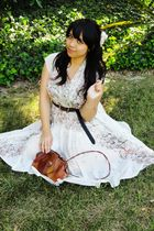 white intimate - white dress