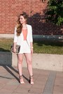 White-chicwish-blazer-white-chicwish-shorts-white-ghillies-heels