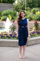 Wedding Guest Attire {Navy + Gold + Cutouts}