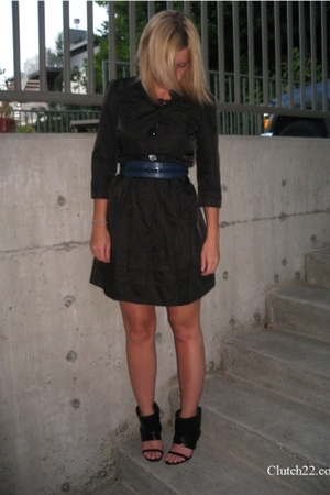 dress - Limited belt - shoes
