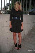 dress - Limited belt - shoes