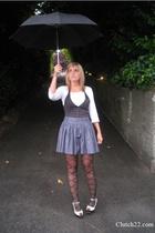 Urban top - Metropark vest - forever 21 skirt - Jeffrey Campbell shoes