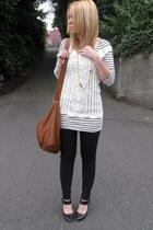 H&M dress - forever 21 vest - American Apparel leggings - Steven shoes - Target