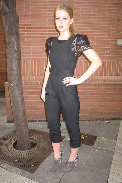 Prada boots - Frech Connection pants - Topshop top - litter accessories