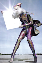 amethyst bodysuit
