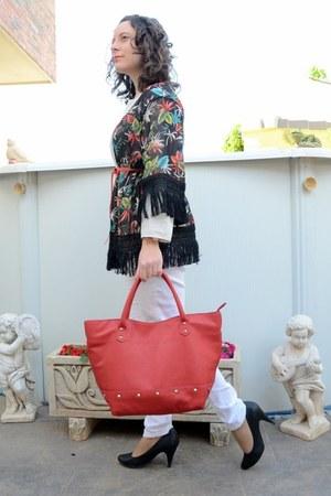 ruby red suiteblanco bag