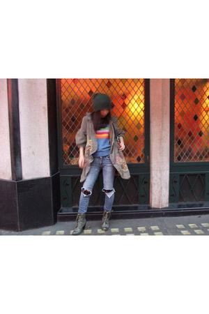 Marc Jacobs coat - Marc Jacobs vest - H&M Kids jeans