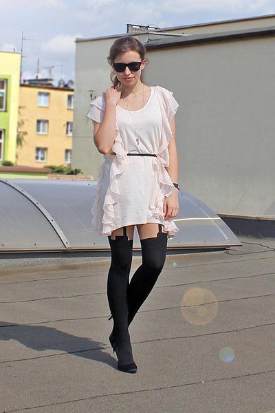eggshell H&M dress