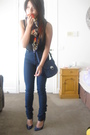 Blue-bettina-liano-jeans-blue-saba-purse-blue-midas-shoes-red-scarf-blac