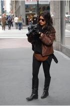 jacket - Persol sunglasses
