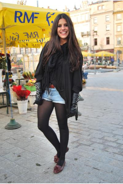 castellanos shoes - H&M gloves - Levis jeans