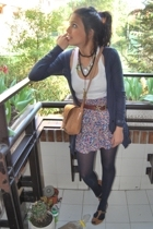 wallet - Pull and Bear skirt - maximo dutti shoes
