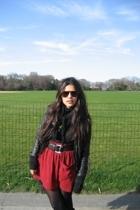 aa skirt - Persol sunglasses