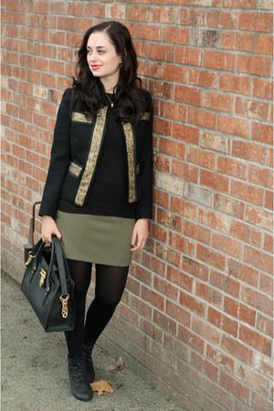 black milly jacket