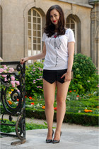 black Choies shorts