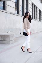 camel Zara sweater
