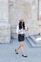 black Sezane skirt