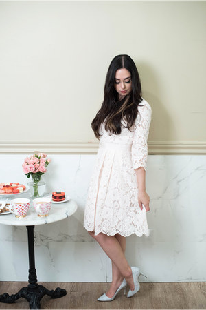 light pink ted baker dress