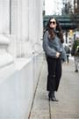 Gray-zara-sweater