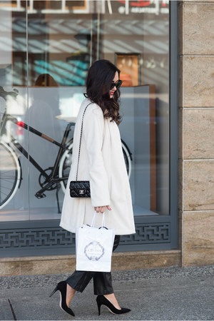 white MARC CAIN coat