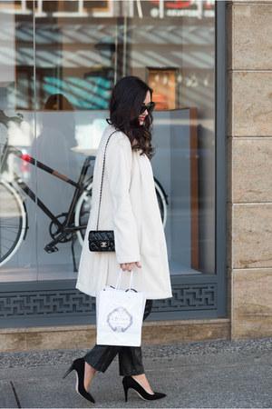 white MARC CAIN coat