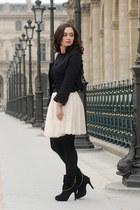 black Chanel jacket
