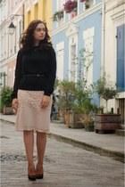 light pink H&M skirt