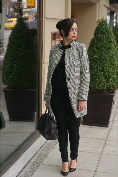 white Sheinside coat