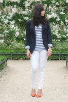 white GINA TRICOT jeans