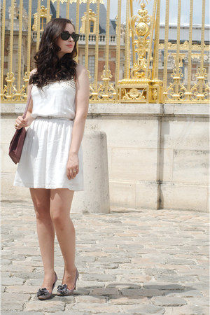 white dex clothing dress