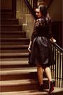 Black-chicwish-skirt