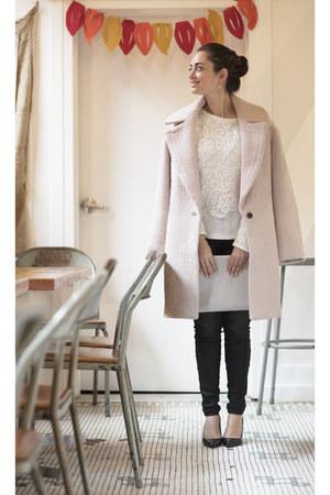 light pink Club Monaco coat