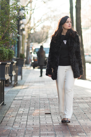white 8 Rue Pomme pants