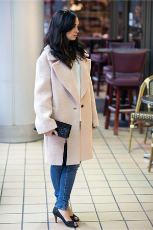 light pink Club Monaco coat