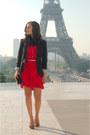 Red-sandro-dress