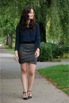 gray AMERICAN VINTAGE skirt