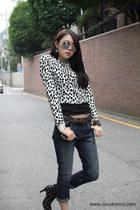 cocobonny jacket - cocobonny belt - cocobonny jeans - cocobonny glasses - cocobo