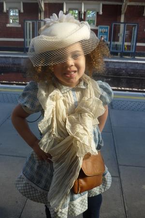 beige vintage scarf - Betsy and Lolacom accessories - Gap leggings - beige Porto