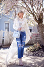 Blue-storets-jeans-sky-blue-rebecca-minkoff-bag-off-white-zara-cardigan