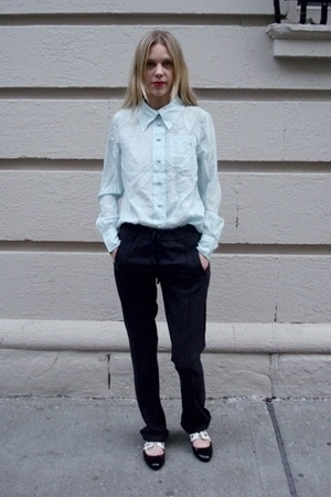Marc Jacobs blouse - humanoid pants - Campbell shoes