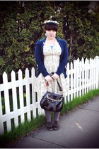 BC footwear shoes - H&M dress - vintage hat - Gap cardigan
